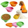 wholesale competitive price silicone pet product dog bowl