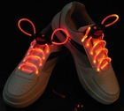 red color led flash shoelace