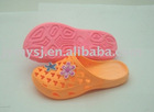 MY-C095 lady/child garden shoes