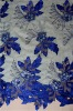 ready fabrics of embroidery handcut velvet voile lace,crochet voile lace