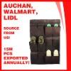 Non-woven 12-Pocket overdoor hanging shoe organizer