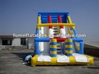 2012 hot Double lane inflatable slide