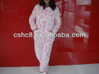 coral fleece Pyjamas