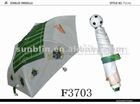 6K sports football umbrella with football handle