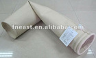 Chemical stable PPS needled felt filter bags