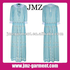 2012 1 piece women casual fashion dress/maxi dress manufacture