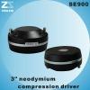 SE900 3 inch compression neodymium driver