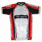 close-fitting custom cycling jersey