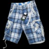 2012 hot men plaid beach pants