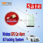 CE, FCC & Rohs wireless 2 way car alarm gps tracker TK210