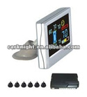 LCD Parking Sensor System With 4/6/8 Sensors
