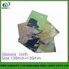 popular heat transfer printing eyeglass cleaning cloth for people