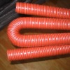 Silicone rubber reinforced hose