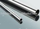 Mirror finish stainless steel tube