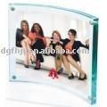 acrylic photo frame(curly shape)