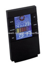 colorful desktop digital clock with thermometer hygrometer