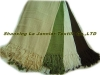 BF003-Herringbone Bamboo Fiber Throw,bamboo Blanket, Bamboo Throw, Throw