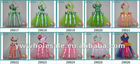 New Design Cotton Christmas Tutu Bow Holder Hairbow Holder