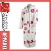 2012 printed coral fleece bathrobe(KN-RB-32)