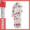2012 printed coral fleece bathrobe(KN-RB-32)