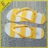 horizontal design colorful slipper