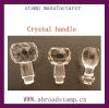 crystal handle &ABS plastic handle