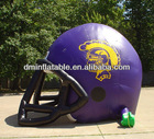 new arrivals advertisement/promotional inflatable outdoor football sport helmet
