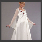 Long Sleeve Embroidered long Evening Dresses For Pregnant Women HS1051