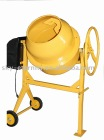 concrete mixer 140L capacity cast iron ring gear, round handle