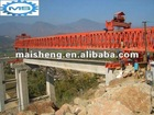 Bridge girder erecting machine used in the highway