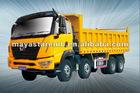 16t Qilong 8*4 dump truck