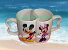 11 oz Couples sublimation mugs