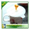 FDA/ROHS cup silicone lid/cover