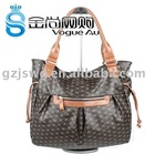 2012 Brand Name Hot Sale Top Design Leounise ladies leather bag