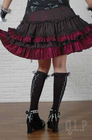 Cake nets gauze skirt Wavy edge princess short skirt 61165 gothic lolita skirt