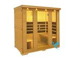 A serial tourmaline sauna room