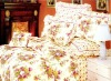 lavender scent 4pcs printed cotton bedding set
