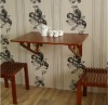 wooden wall desk/table