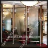 casting glass partition for hotel