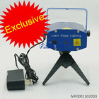 Mini Portable Laser Voice Activated Stage Lighting Show Holograhpic Projector