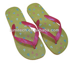 promotional flip flop sandal with custom's logo