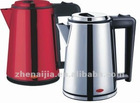 Promotional item Ruby red 1.5 1.0LTR 1500W cordless kettle electric home kitchen appliances