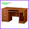 Particle board computer desk (cherry) FHD1401