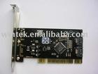 SIL3512 -2ports+ eSATA 2ports To PCI CONTROLLER CARD