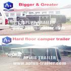 Big rear folding off road camper trailer HFC11 caravan
