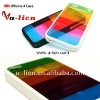 Wholesale New Design Hot Sale Plastic Colorful Rainbow Case For Iphone 4 case for iphone 4G