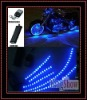 hot sales LED Flexible Motorcycle Lights Kit with remote