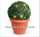 Topiary Bush solar light