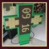 p16 768*768mm led pharmacy cross sign