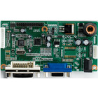 TFT panel driver board with VGA and DVI